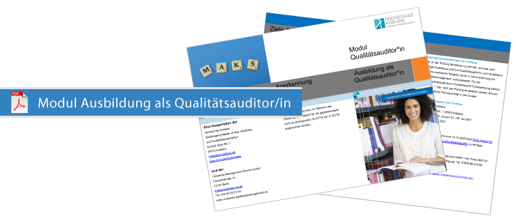Modul Qualitaetsauditor in